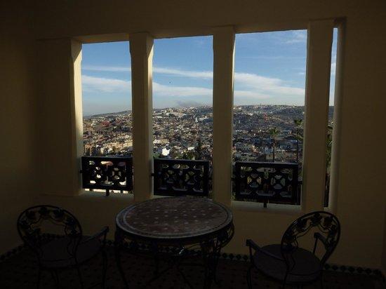 Sofitel Fes Palais Jamai: Vue depuis le balcon