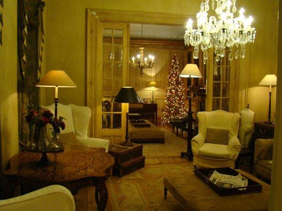Pand Hotel Small Luxury Hotel : Petit salon
