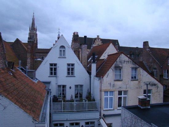 Pand Hotel Small Luxury Hotel : Vue sur les toits depuis la chambre