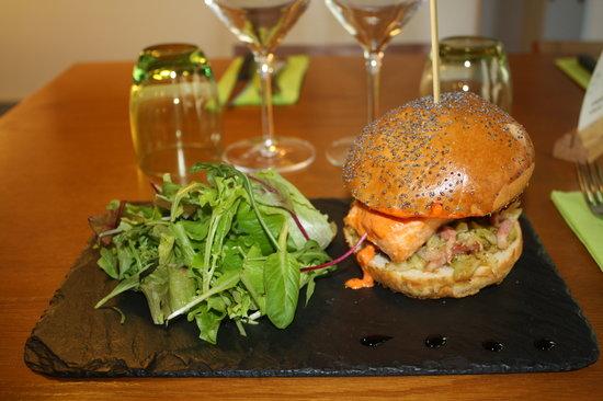 L'Affaire de Goût : notre burger de saumon
