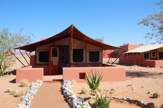 Sossusvlei Lodge : Eines der Zelte