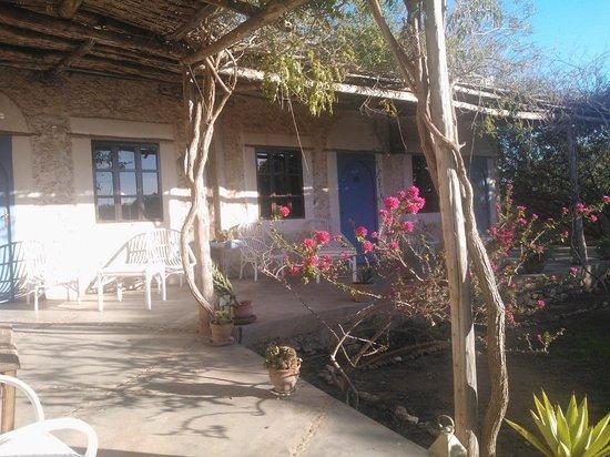 La Maison Essaouira: Entrée des chambres