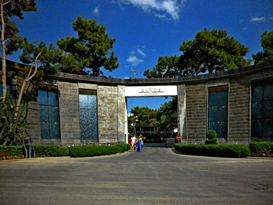 Rixos Sungate: Вход в отель