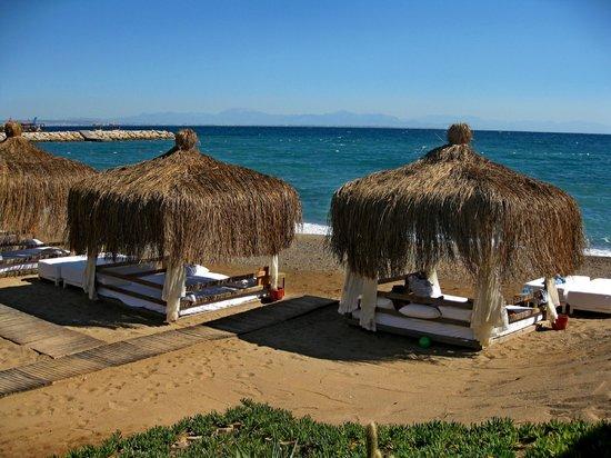 Rixos Sungate: Пляж