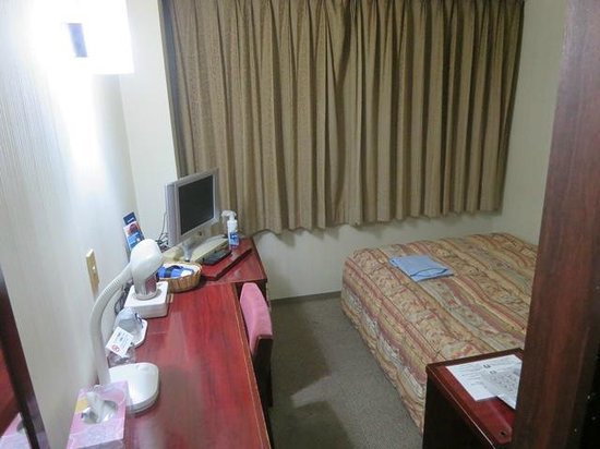 Hotel Sky Court Narita: シングルルーム。可もなく不可もなく