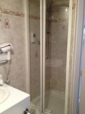 Hotel Du Parc : cabine douche