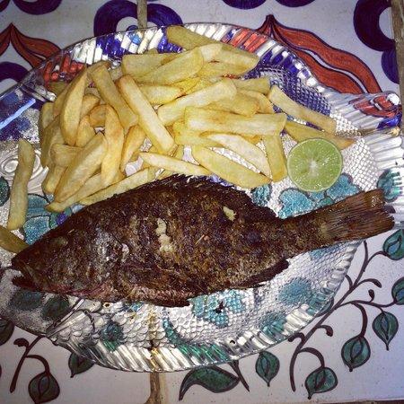 Presa di Goa Country House : Red snapper was delicious