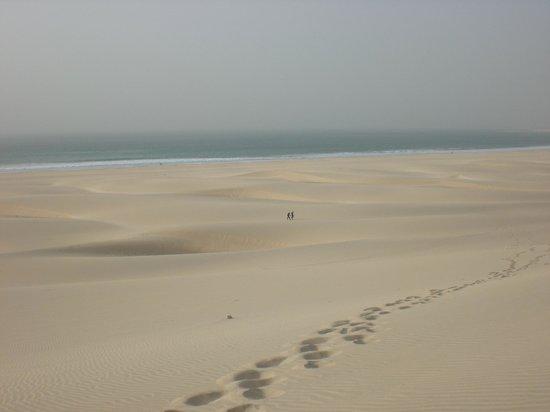 Royal Decameron Boa Vista : Plage de dunes à perte de vue