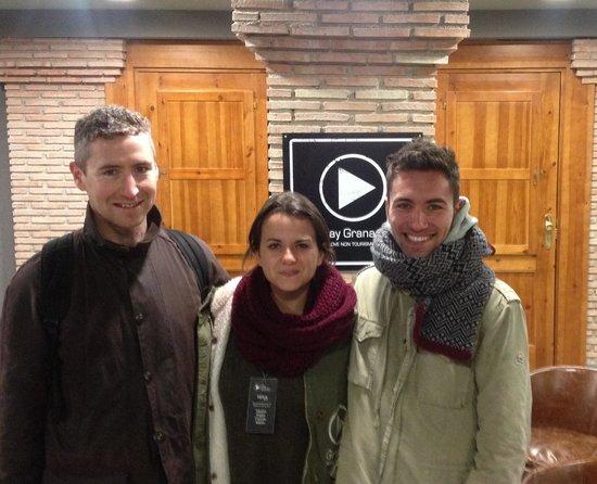 Play Granada: Tres amigos!! Gracias Neiva x