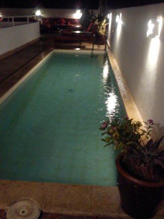 Riad La Maison Rouge : Pool