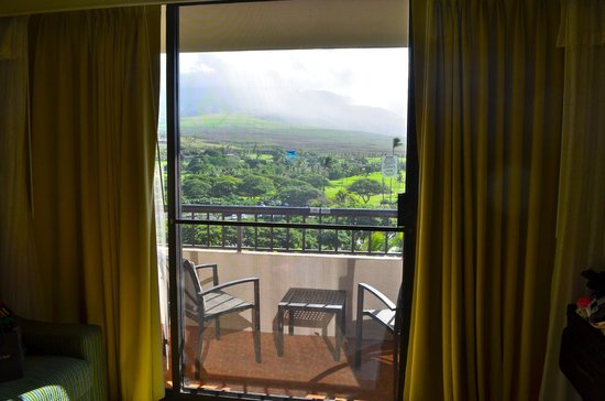 Marriott's Maui Ocean Club  - Lahaina & Napili Towers: View from Garden View room