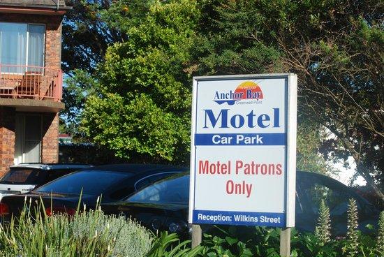Anchor Bay Motel : l'entrée