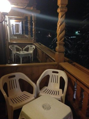 Hotel Sonnenhof: balcone romantic