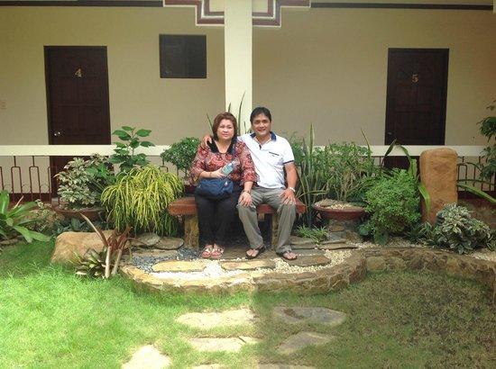 Ysabelle Mansion: mini garden