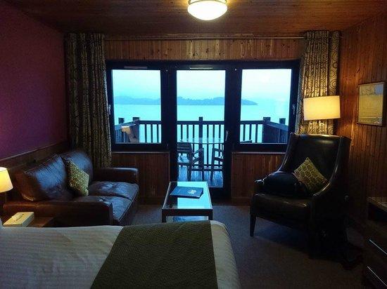 Lodge on Loch Lomond: executive suite