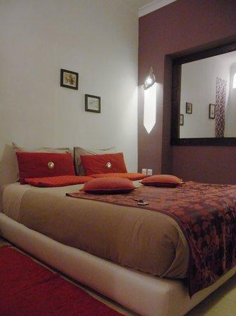 Riad Boussa: my room