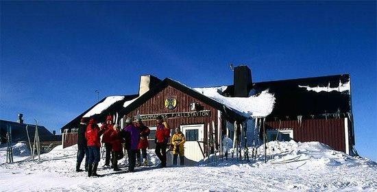 STF Blahammaren Fjallstation: Vinter på Blåhammaren.