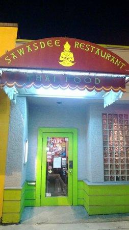 Sawasdee Thai Restaurant : L'ingresso