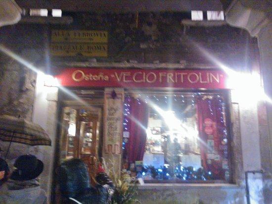 Vecio Fritolin : Ristorante, ingresso