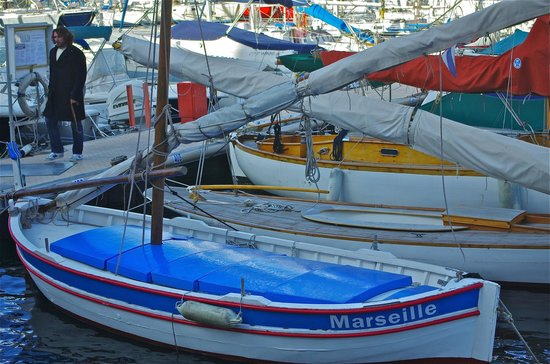 Alter Hafen (Vieux Port): Traditional fishing boats