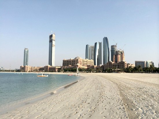 Emirates Palace: Beach