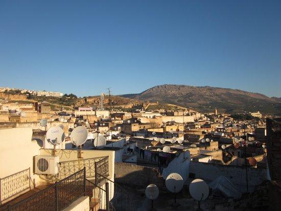 Dar Hafsa: テラスから見える景色