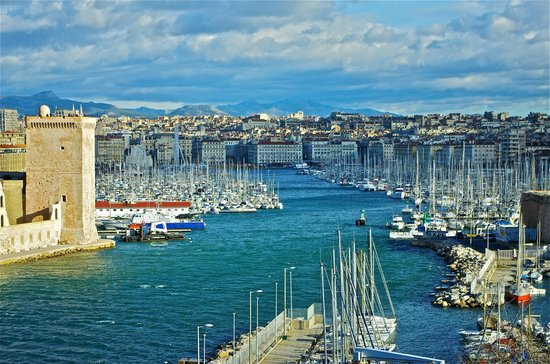 Palais du Pharo : View on the Old Port from Le Pharo