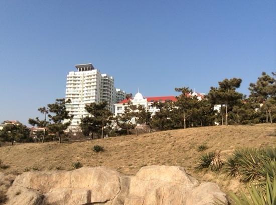 Seaview Garden Hotel: 翌日は晴天。