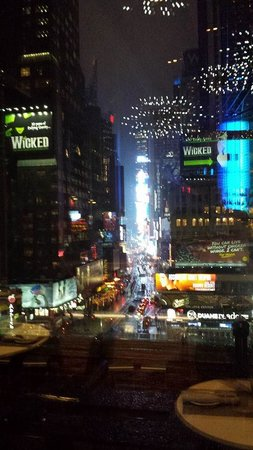 Novotel New York Times Square: Vista do restaurante