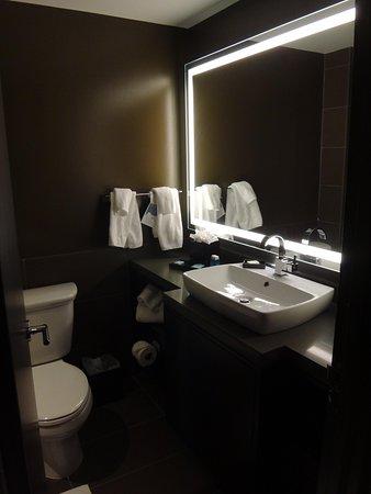 Novotel New York Times Square : Banheiro todo reformado