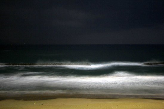 Hamafune: 部屋からの眺め(夜)
