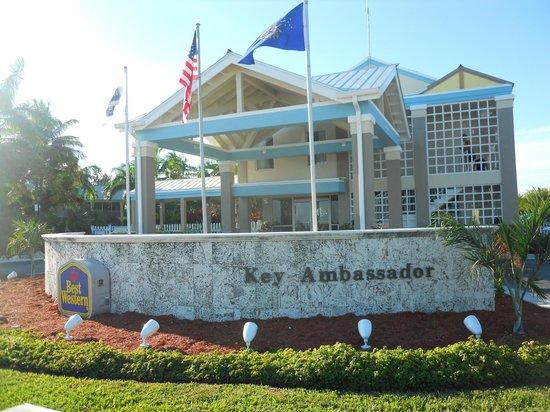BEST WESTERN Key Ambassador Resort Inn: ingresso hotel