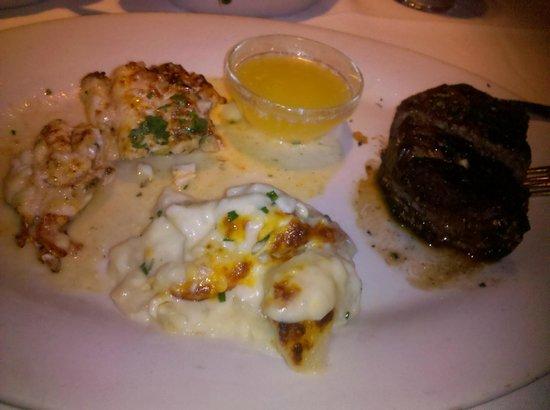 Eddie V's Prime Seafood: Filet & Lobster