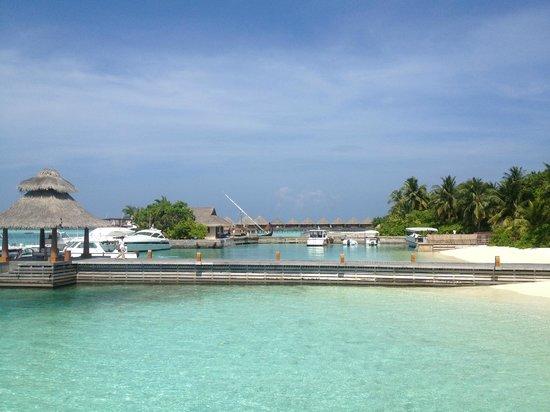 Baros Maldives: The beach
