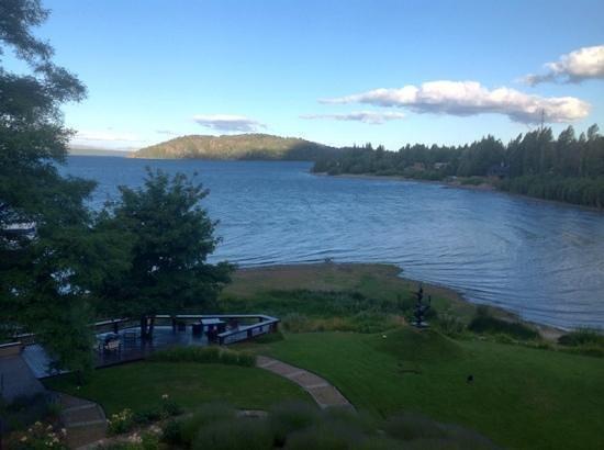 El Casco Art Hotel: Vista do lago.
