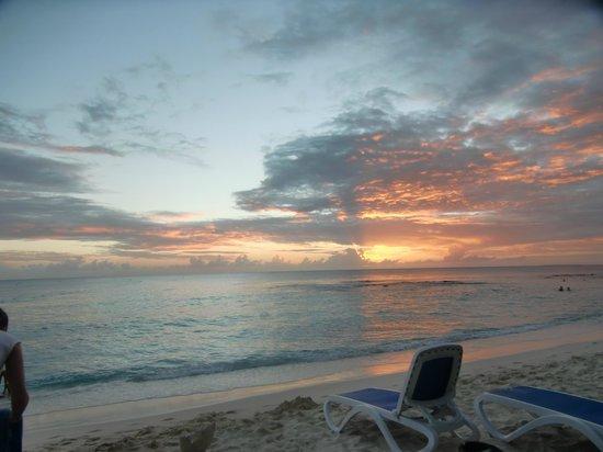 Dominicus Beach: coucher de soleil