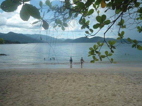 Cacandoquinha Beach: Muito tranquila