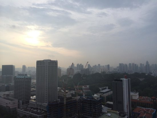 Swissotel The Stamford Singapore: Marvellous view from 32/F