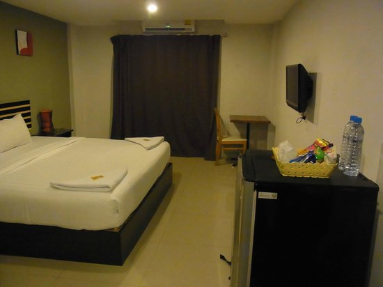 Nest Boutique Resort: our room on the 4th floor