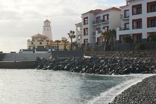 Quinta do Lorde Resort, Hotel & Marina : View from beach