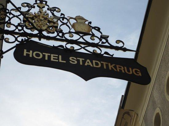 Stadtkrug Hotel : Entrance