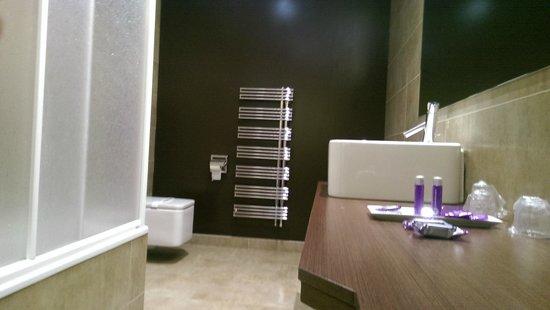 Hotel Fuente Del Miro: Detalles en el baño