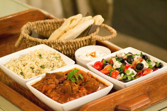 The Artisan Bakehouse: Our delicious home-cooked lamb tagine