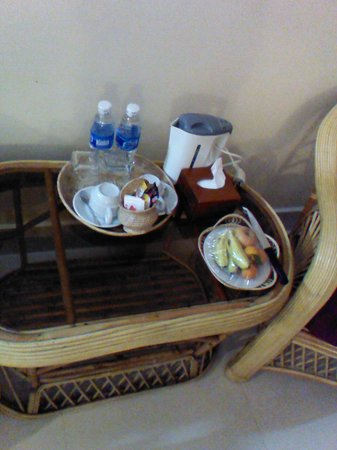 Gloria Angkor Hotel: Fruit and water restocked daily