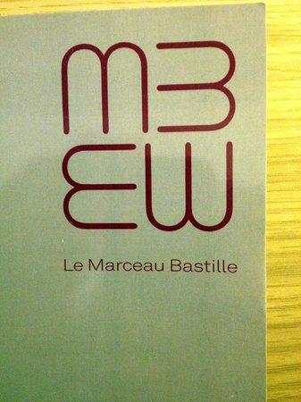 Le Marceau Bastille Hotel: Car de visite
