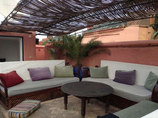 Riad Sekkat: The roof deck