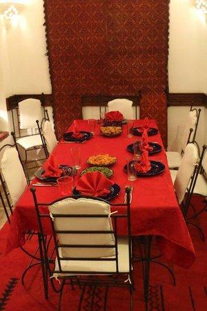 Riad Sekkat: Dining room