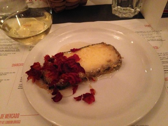 Tapas Brindisa London Bridge : cheese and vegetable