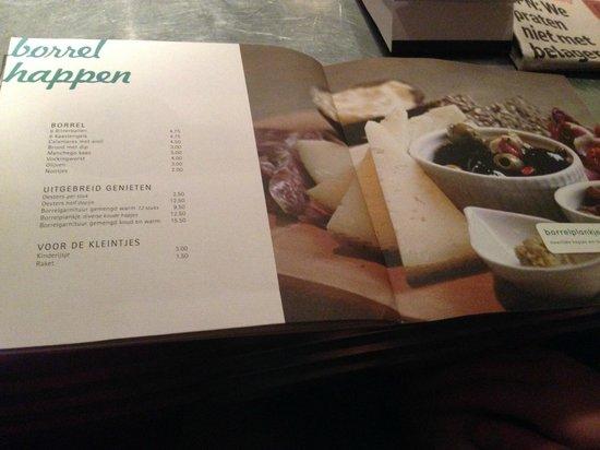 Buurten: The menu - snacks