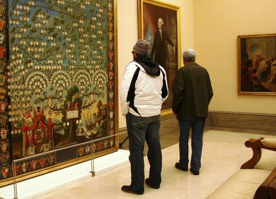 Museo de la Real Academia de Bellas Artes de San Fernando : Una de las salas del Museo